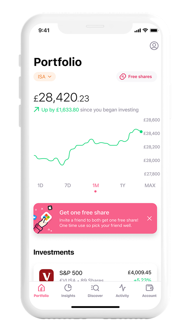 Our mission is to get everyone investing