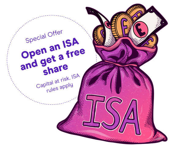 Open ISA account - Investment ISA