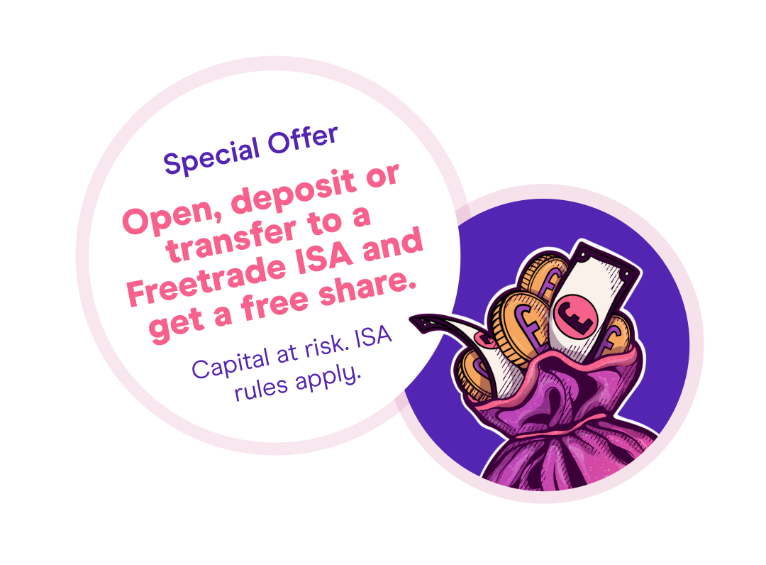 Freetrade ISA Offer - Get a Free share
