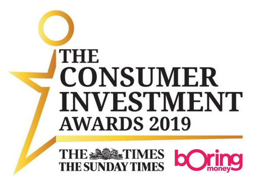 Best New Investment Service - The Consumer Investment Awards 2019