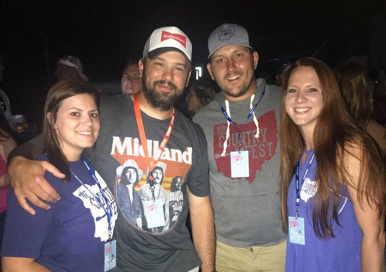 The Country Fest Ohio Team