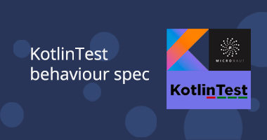 Kotlintest BehaviorSpec