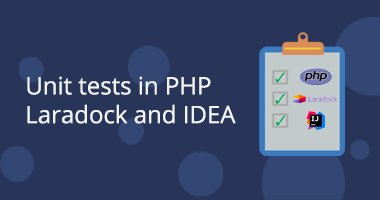 Unit tests in PHP, Laradock and IntelliJ IDEA