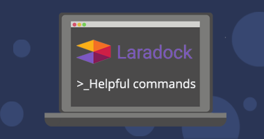 Helpful commands for Laradock