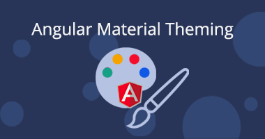Theme support with Angular Material