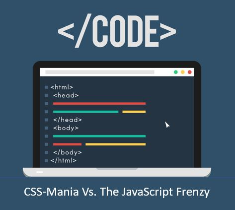 CSS-Mania vs. The JavaScript Frenzy