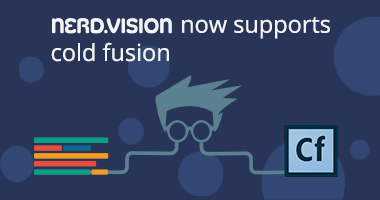 nerd.vision now supports ColdFusion