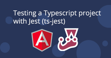 Testing a Typescript project with Jest (ts-jest)