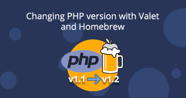 Changing PHP version with Valet and Homebrew (OSX)