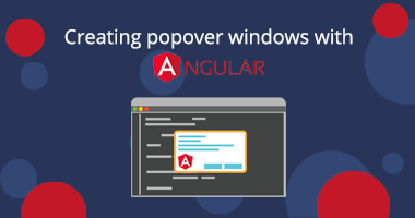 Creating popover windows in Angular