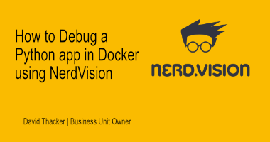 How to Debug a Python app in Docker using NerdVision