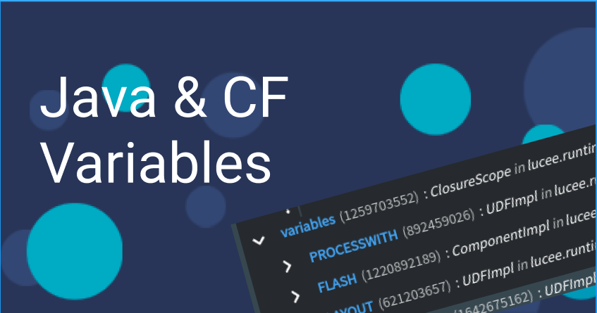 Java and ColdFusion variables