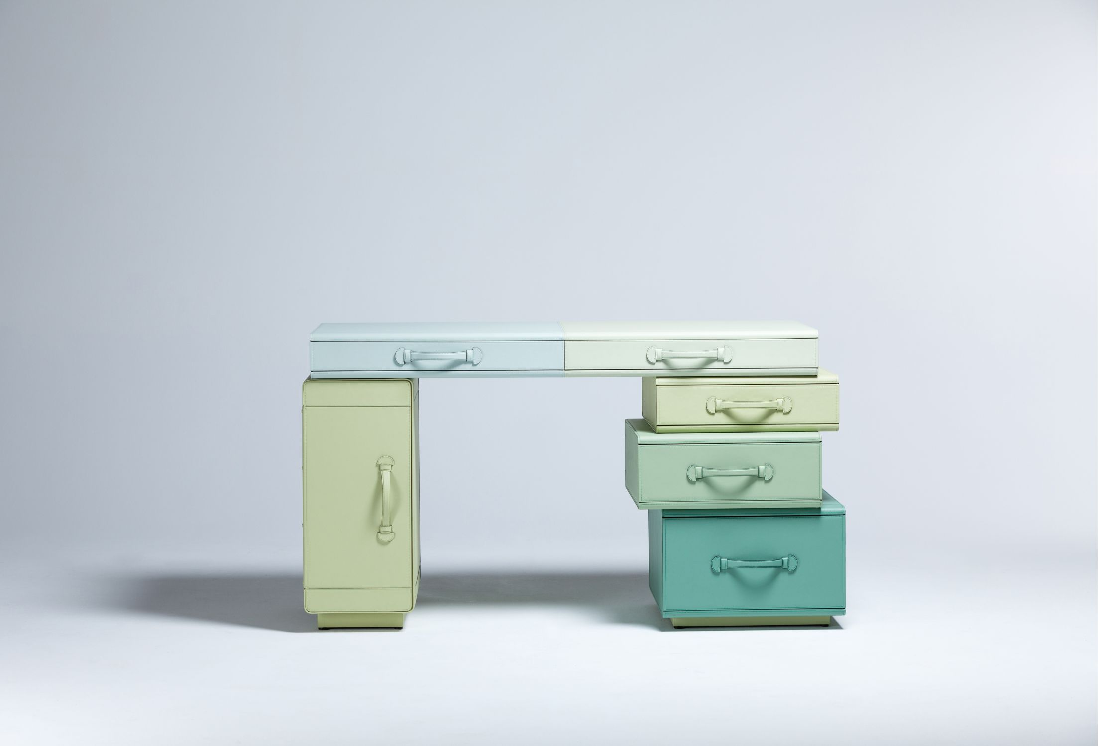 Writing Desk of Suitcases