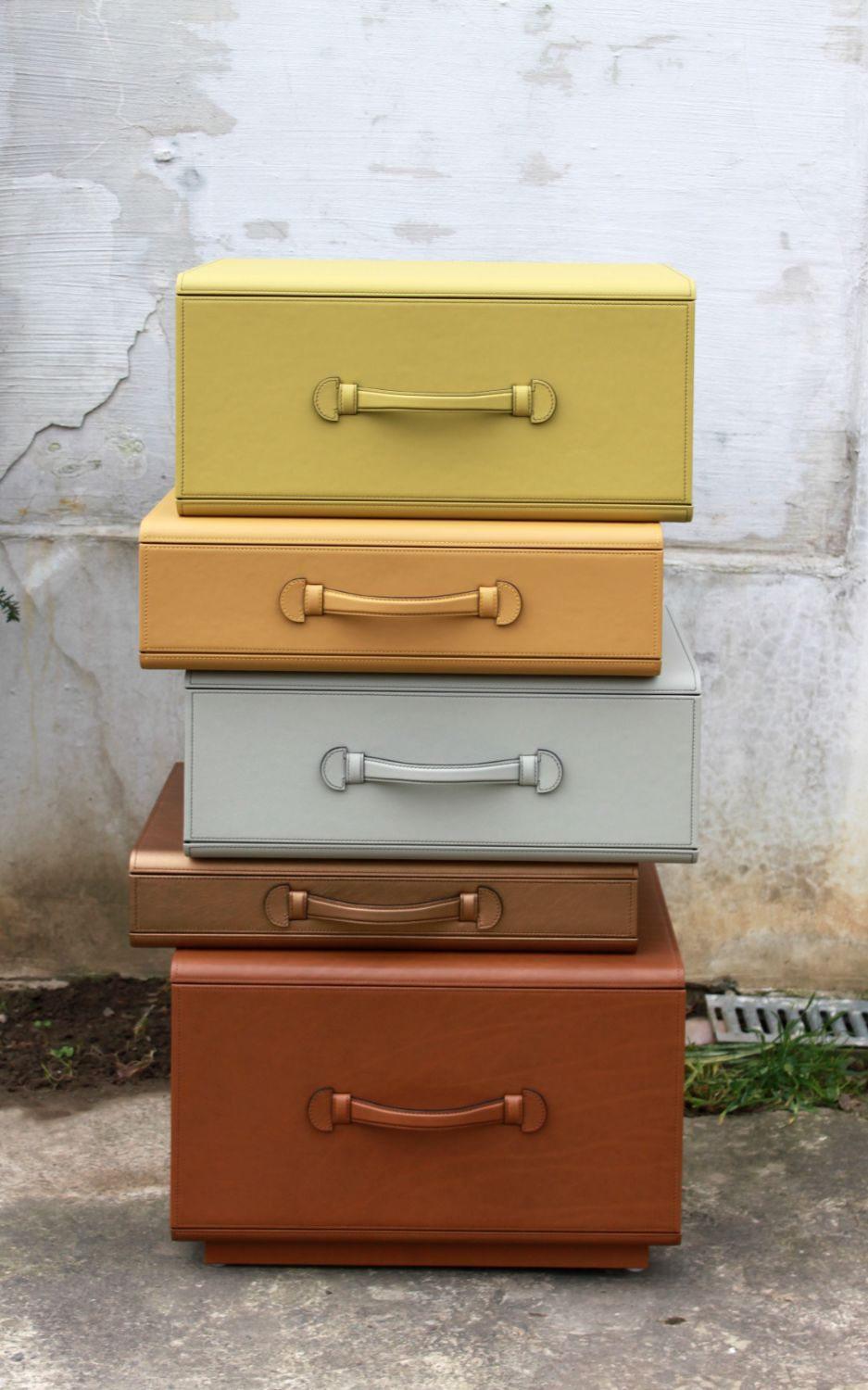 Small Pile Of Briefcases