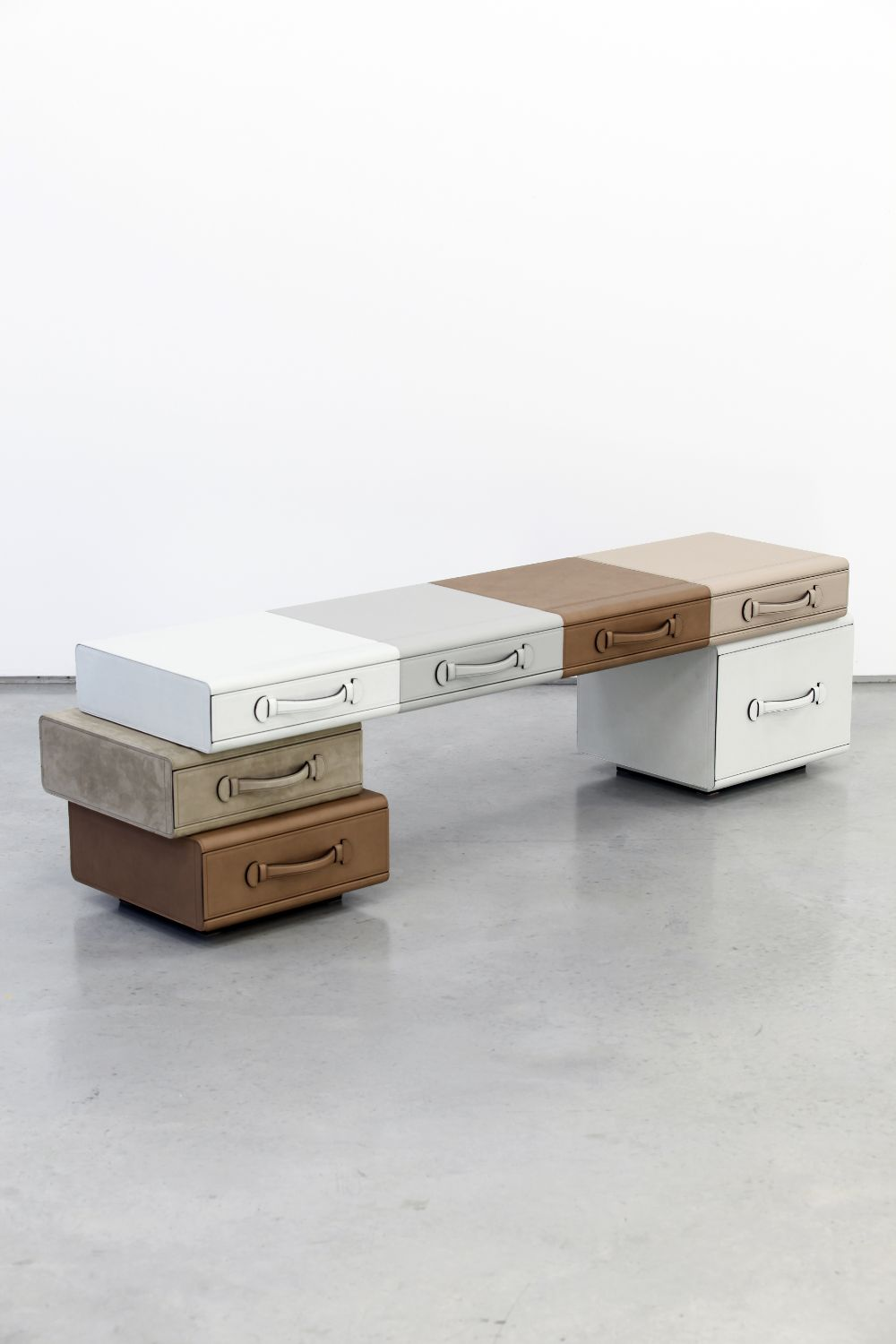 Bench of Briefcases