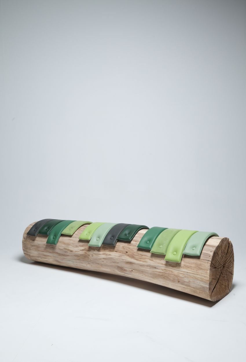 Tree Trunk Benches