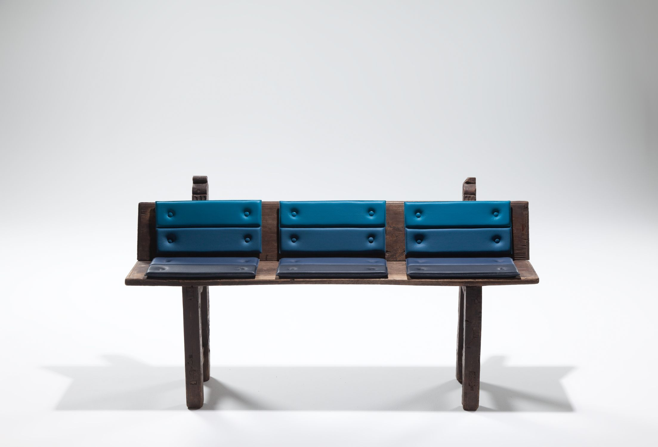 Transformed Antique Benches