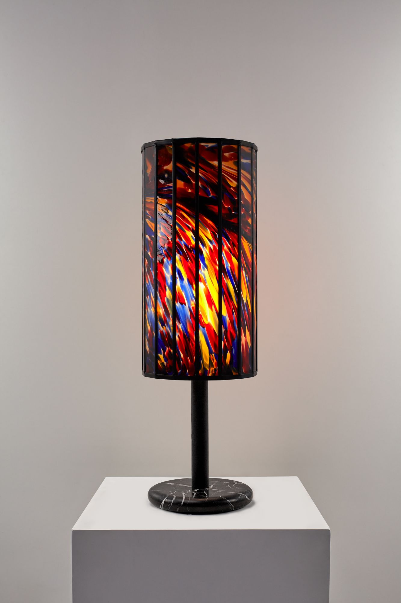 Stained Glass Table Light 76