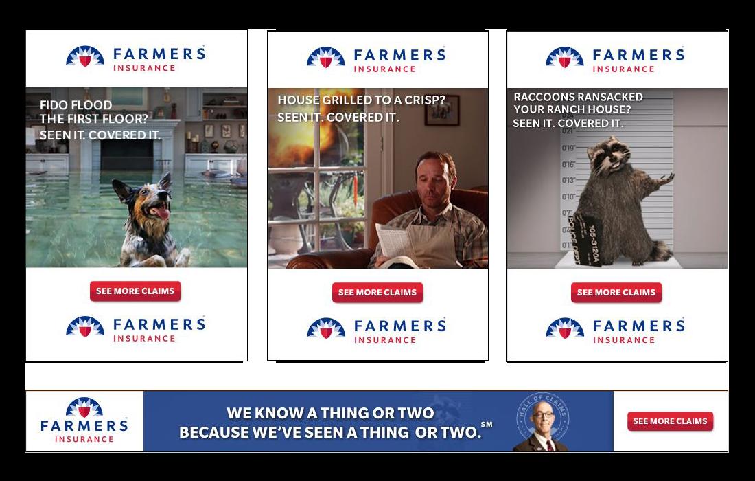 Farmers Insurance Ads