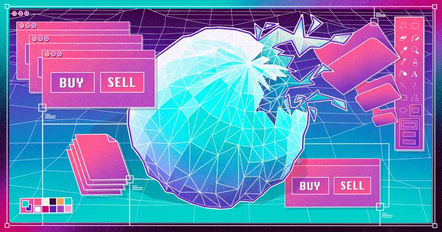 Is the tech bubble bursting?