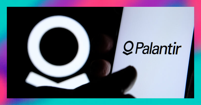 Why did Palantir shares fall today?