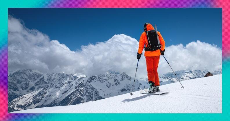 Investors, don't be a second-day skier