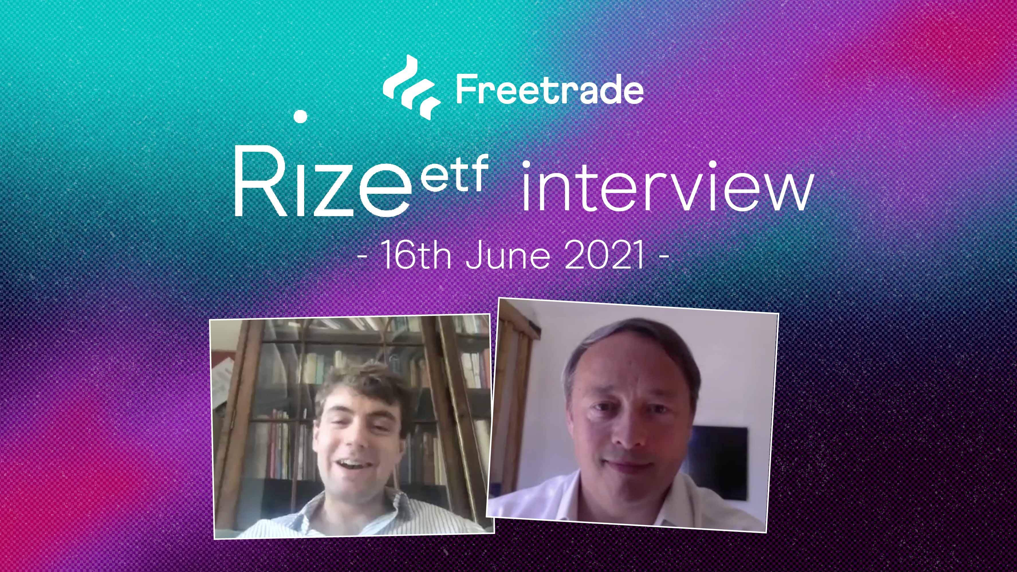 Rize ETF interview with Co-Founder Jason Kennard