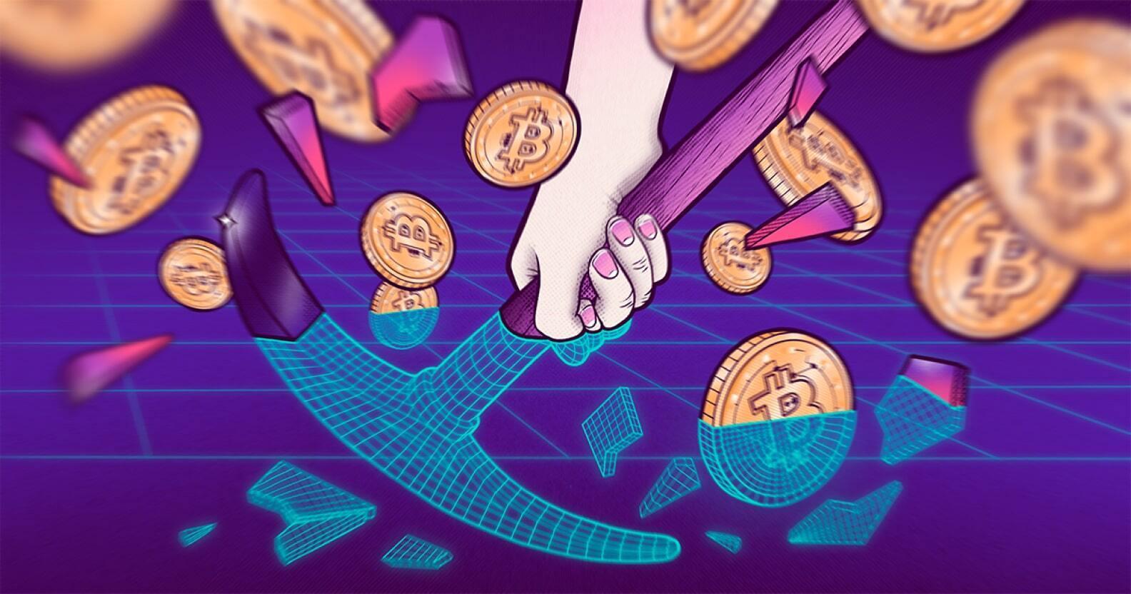 China's crushing crypto