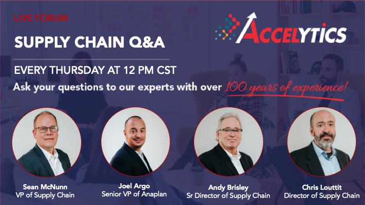 Accelytics Supply Chain Forum