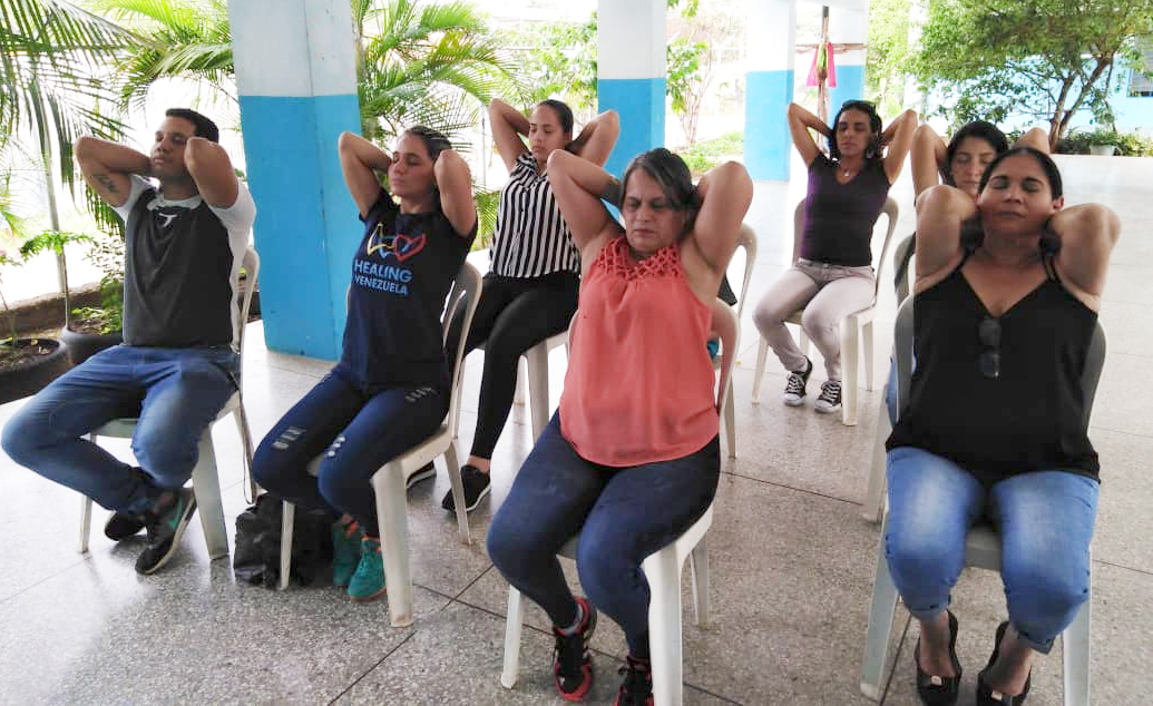 Today's crisis has an acute impact on the mental health of Venezuelans. Since 2017, more than 4,000 people have benefited from our mental well-being programme