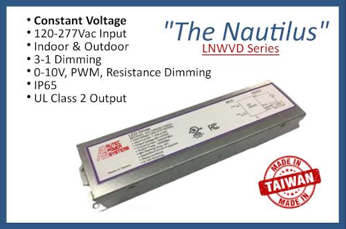 """LNWVD Series """"The Nautilus"""""""