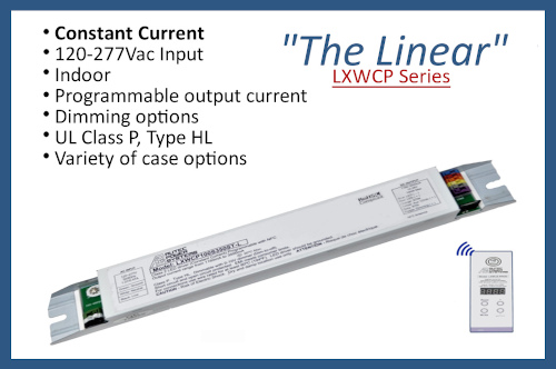 """LXWCP Series """"The Linear"""""""
