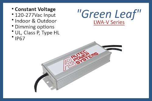 """LWA-V series """"Green Leaf"""""""