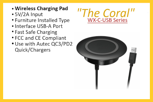 "WX-C-USB Series ""The Coral"""