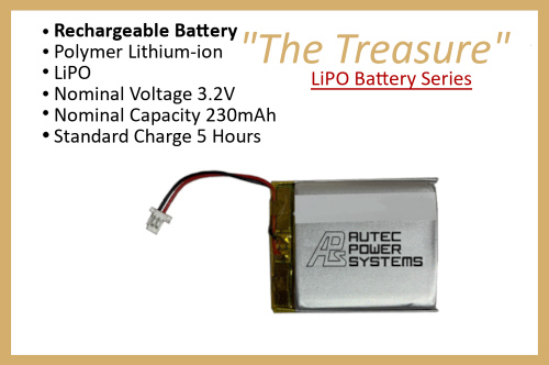 "LiPO Battery Series ""The Treasure"""