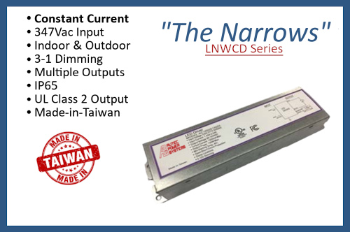 """LNWCD Series """"The Narrows"""""""