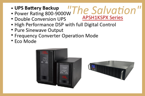 "APSH1KSSPX Series ""The Salvation"""