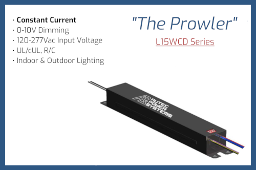 """L15WCD Series """"The Prowler"""""""