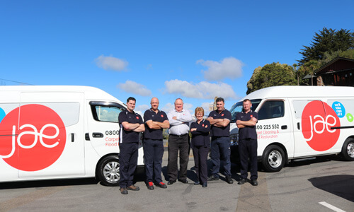JAE Carpet Cleaning Christchurch East and South Tech Team