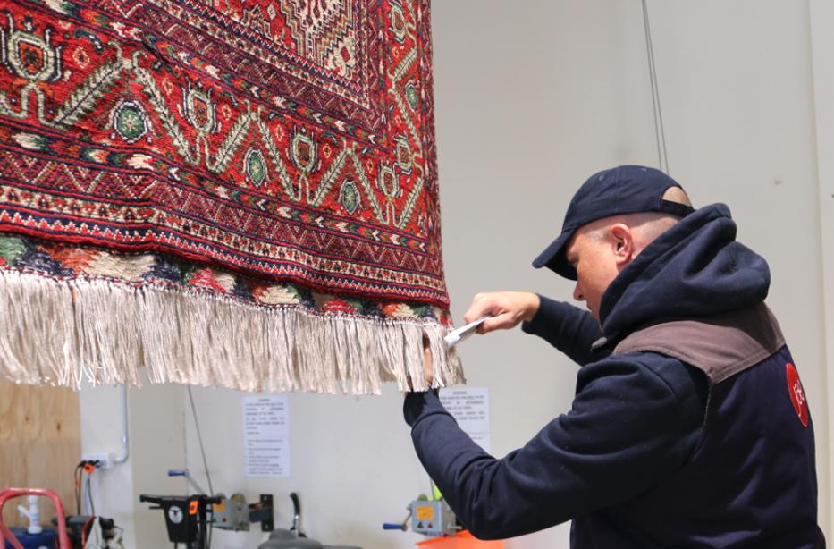 rug tassle cleaning
