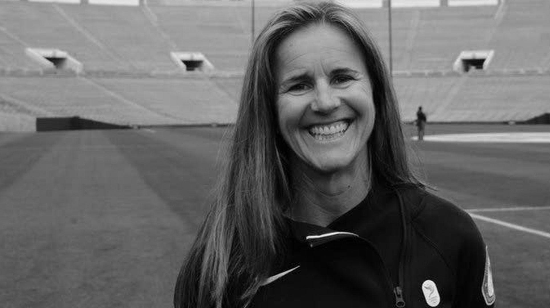 Coach Brandi Chastain