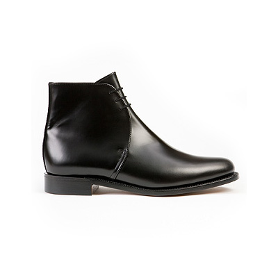 Plain Leather George Boots