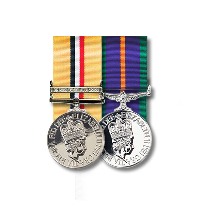 Miniature Medal Mounting