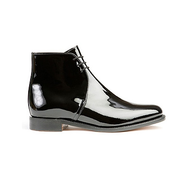 Patent Leather George Boots