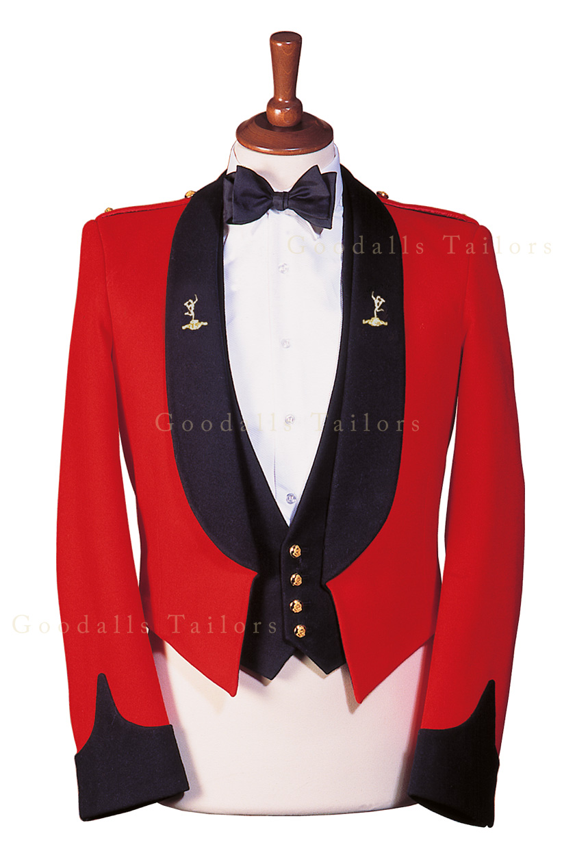 Royal Signals Officer Mess Dress