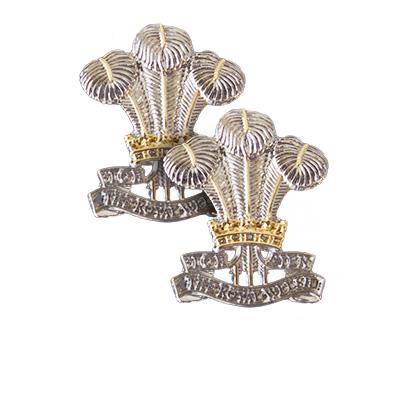 Royal Welsh Reg. Cufflinks