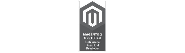 Magento 2 Professional Font End badge