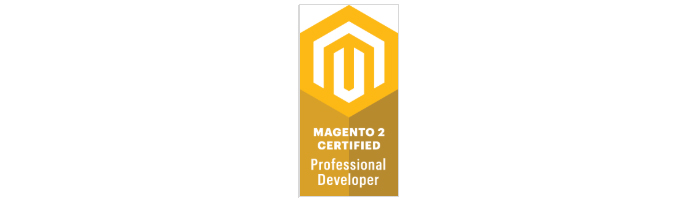 Magento 2 Professional Developer badge