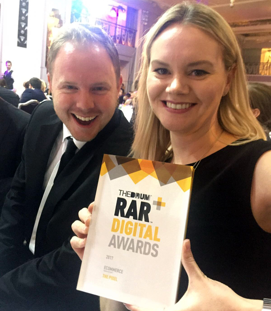 RAR Digital Awards feature