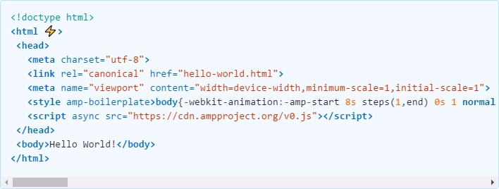 amp html file example